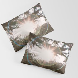 Flare light in the forest Pillow Sham