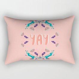 Yay! Rectangular Pillow