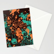 Dream Factory Orange and Blue Stationery Cards