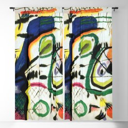 Wassily Kandinsky Fragment I for Composition VII Blackout Curtain
