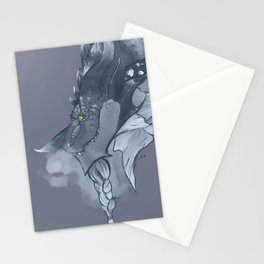 Frost Dragon Stationery Cards