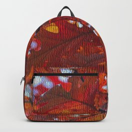 Autumn Red Backpack
