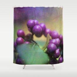 Callicarpa dichotoma 'Issai' Shower Curtain