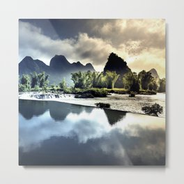 The Whispers of the Winds Metal Print