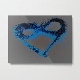 I Love You Endlessly (Silent Sea) Metal Print