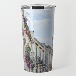 Street in Syracuse, Sicily Travel Mug