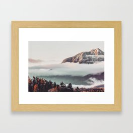 Mt Cloudy Framed Art Print