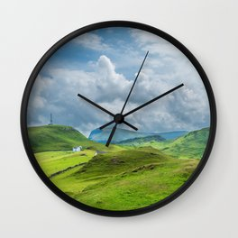 The View from Duntulm Castle Wall Clock