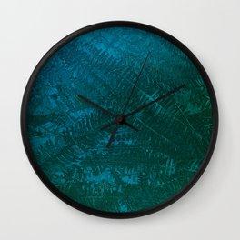 Ferns pattern Wall Clock