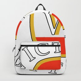 victoria bitter white Backpack