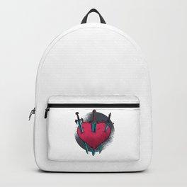 Stabbed Heart Backpack