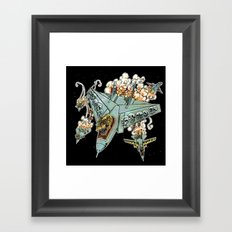 Tyrannosquadron Rex... IN SPAAACE! Framed Art Print
