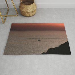 Sunset   Nature and Landscape Photography Rug