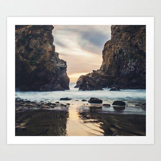 When Ocean Dreams Art Print