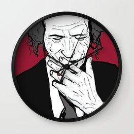 K Richards Rolling Stones Wall Clock
