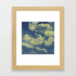 Instant Series: Clouds II Framed Art Print