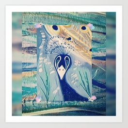 Peacock's Art Print