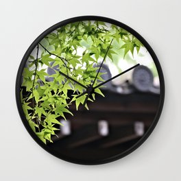 Leaf me to be Wall Clock