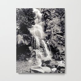 Waterfall 3, Colorado Metal Print