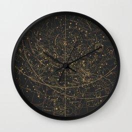 Visible Heavens - Dark Wall Clock