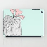 bears iPad Cases featuring bears by s t i n g s