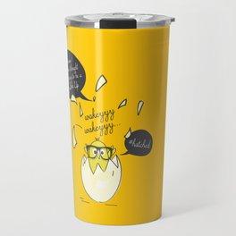 #Hatched Travel Mug