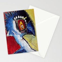 Woodpecker Has a Migraine Stationery Cards