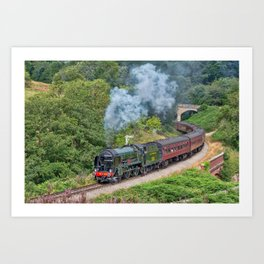 Southern Railways Repton Art Print