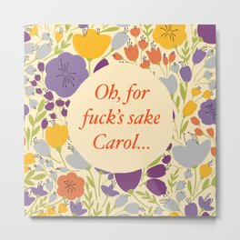 Carol Metal Print