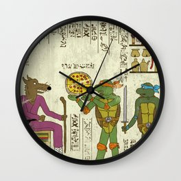 hero-glyphics: TMNT Wall Clock