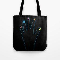 Spirit Fingers Tote Bag