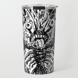 Zombie Lobsta – Attack from the Red Shells from Hell! Travel Mug