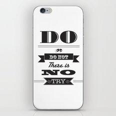 star wars too iPhone & iPod Skin