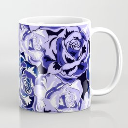 Beautiful Violet Roses Coffee Mug