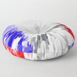 Flag of France Floor Pillow