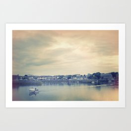 Afternoon in Galway Bay Art Print