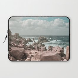 rocks and sea Laptop Sleeve