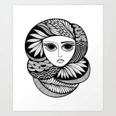 Tendrils #1 Art Print
