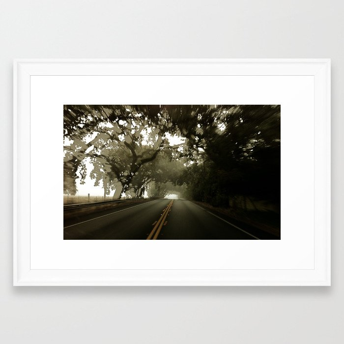 blur 12 Framed Art Print