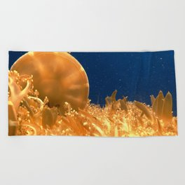 Sea Jellies Beach Towel