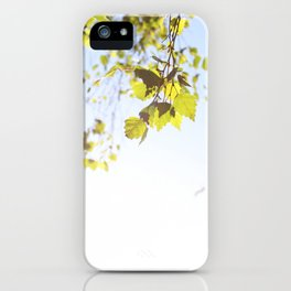 Hanging Branches iPhone Case