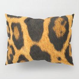 Faux Ocelot Skin Design Pillow Sham