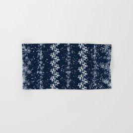 Winter ornament Hand & Bath Towel