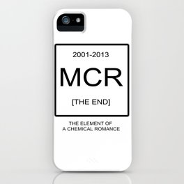 My Chemical Romace Element iPhone Case
