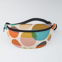Abstraction_Pebbles_Colour_Minimalism_001 Fanny Pack
