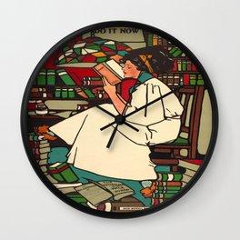 Vintage poster - Dig Wall Clock