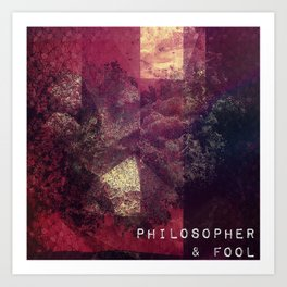 Philosopher & Fool - Poison Art Print