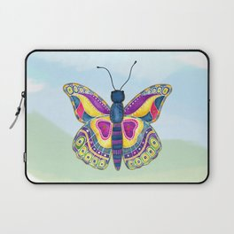 Butterfly III on a Summer Day Laptop Sleeve