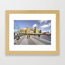 The Race to the North  Framed Art Print