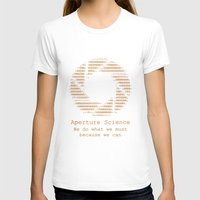 aperture T-shirts featuring Aperture Science by IS0metric